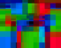 Enkla fyrkanter 12 vektor illustrationer