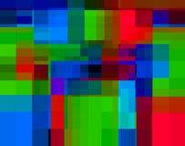 Enkla fyrkanter 12 Arkivfoto