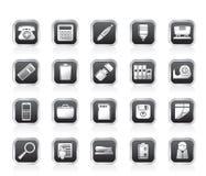 enkla hjälpmedel för symbolskontor Arkivbild