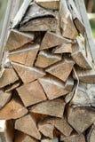 Enkla stycken av trä Fotografering för Bildbyråer