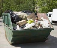 Enlèvement de déchets Photographie stock