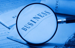 Enlarge business Stock Photos