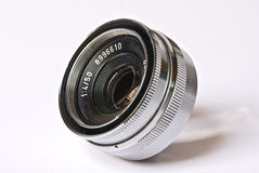 Enlarger lens Stock Image