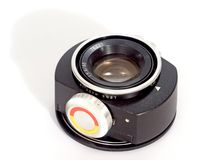 Enlarger lens for retro Royalty Free Stock Photography