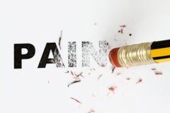 Enlever la douleur Images libres de droits