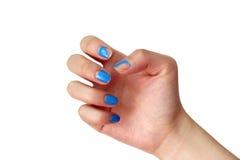 Enlevez hors fonction le vernis à ongles Images stock