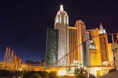 Enlighted hotel in Las Vegas Stock Image