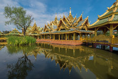 Enlightened City Hall is located in the ancient province. Of Samut Prakan Stock Image