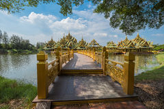 Enlightened City Hall is located in the ancient province. Of Samut Prakan Royalty Free Stock Photos