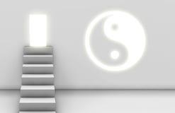 enlightenment ścieżka Zdjęcia Stock