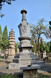 Enlightenment monk's tomb. Shaolin Temple Talin, Shaolin monk's grave Royalty Free Stock Images