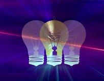 enlightment принципиальной схемы Стоковое Фото