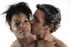 Enlove latin de couples Image stock