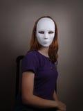 Enmascarado Fotos de archivo libres de regalías