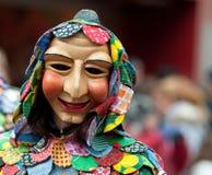 Enmascare el desfile en Freiburg, Alemania Foto de archivo libre de regalías