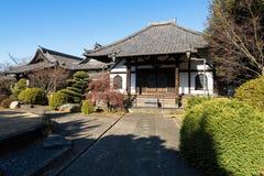 Enmei-ji świątynia w Yanaka Tokio, Japonia, - Obraz Royalty Free