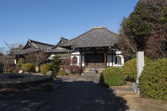 Enmei-ji Temple in Yanaka, Tokyo - Japan. Stock Photography