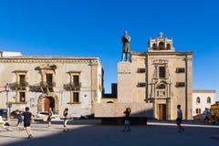 ENNA SICILIA CHURCH Royalty Free Stock Images