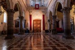 Enna Sicilien, Italien Royaltyfri Fotografi