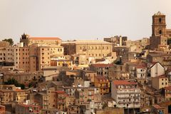 Enna, Sicily Stock Photography