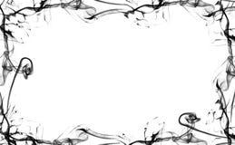 Ennegrezca el marco del humo Imagen de archivo libre de regalías