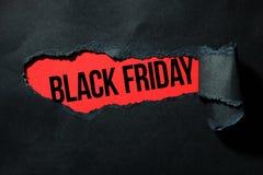Ennegrezca viernes Imágenes de archivo libres de regalías