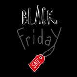 Ennegrezca viernes Foto de archivo libre de regalías