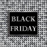 Ennegrezca viernes Venta Fondo con el mosaico Imagen de archivo libre de regalías