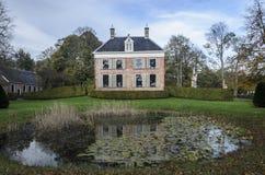 Ennemaborg Midwolde, Nederländerna Fotografering för Bildbyråer