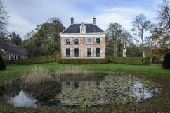 Ennemaborg, Midwolde, Países Bajos Imagen de archivo
