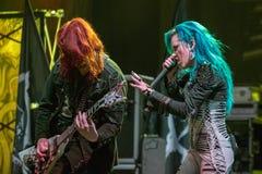 Ennemi de voûte chez Metalfest 2015A Photos libres de droits