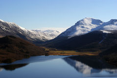 Ennerdale Lake mountains Royalty Free Stock Images