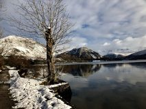 Ennerdale Valley and lake Stock Image
