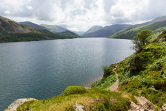Ennerdale vatten nationalpark Cumbria England UK för område för sjö royaltyfri fotografi