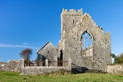 Ennis abbey in Ireland. Ancient historical irish religious friary in Ennis county clare in Ireland Royalty Free Stock Image
