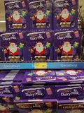 Ennis, Ireland - Nov 17th, 2017: Aldi Store in Ennis County Clare, Ireland. Selection of various Cadbury diary milk christmas. Selection boxes stock image