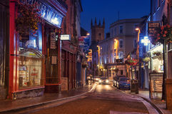 Ennis la nuit Photo stock