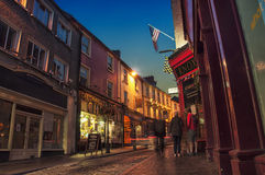 Ennis at night Royalty Free Stock Photography