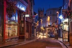 Ennis på natten Arkivfoto