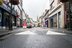Ennis street scene, Ireland Stock Image
