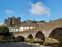 Enniscorthy Castle. 13th century Enniscorthy Castle on the river Slaney, Wexford, Ireland Stock Photo