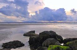 enniscrone пляжа Стоковое Изображение