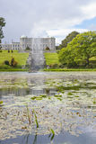 Enniskerry, Ireland - May 5: Triton Lake at Powerscourt Royalty Free Stock Photos