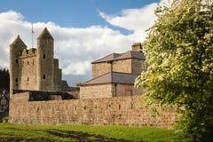 Enniskillen Schloss Grafschaft Fermanagh Nordirland stockbild