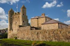 Enniskillen Schloss Grafschaft Fermanagh Nordirland lizenzfreie stockfotos