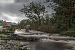 Ennistymon小瀑布 库存照片