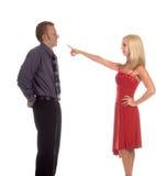 Ennui de Valentine Image libre de droits