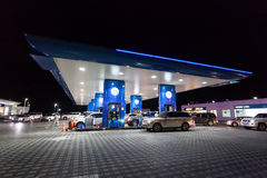 ENOC Petrol station in Dubai Stock Image