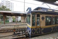 Enoden linje i Kamakura, Japan Royaltyfria Foton