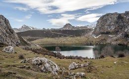 Enol Lake Royalty Free Stock Image